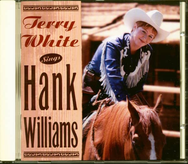 Terry White Sings Hank Williams (CD)