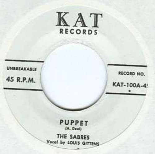 My Hot Mama - Puppet 7inch, 45rpm