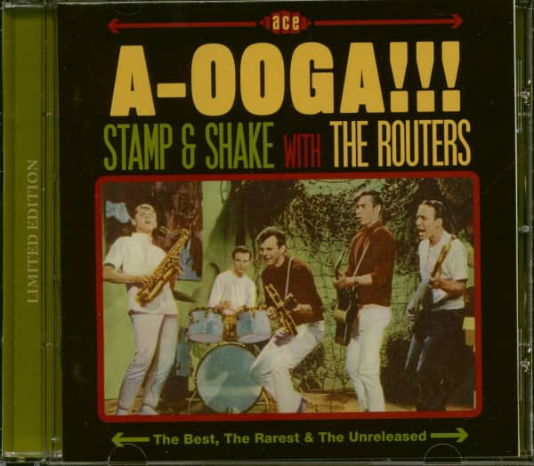 A-Ooga!!! Stamp & Shake With The Routers (CD, Limited Edition)