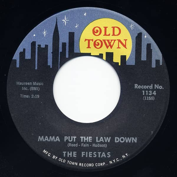 Mama Put The Law Down - The Gypsy Said 7inch, 45rpm