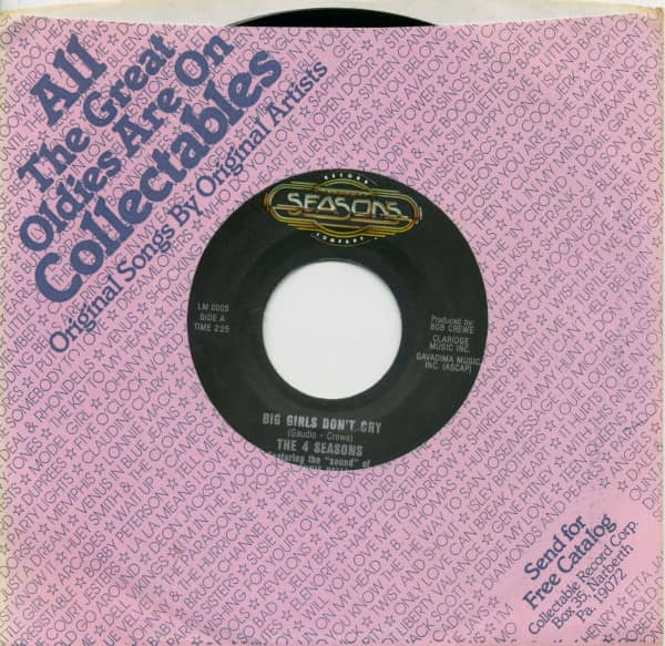 Big Girls Don't Cry - Candy Girl (7inch, 45rpm, BC, CS)