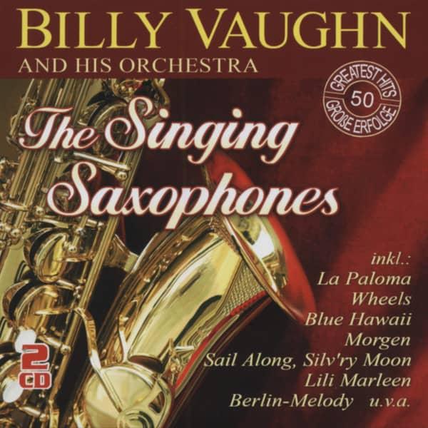 The Singing Saxophones (CD)
