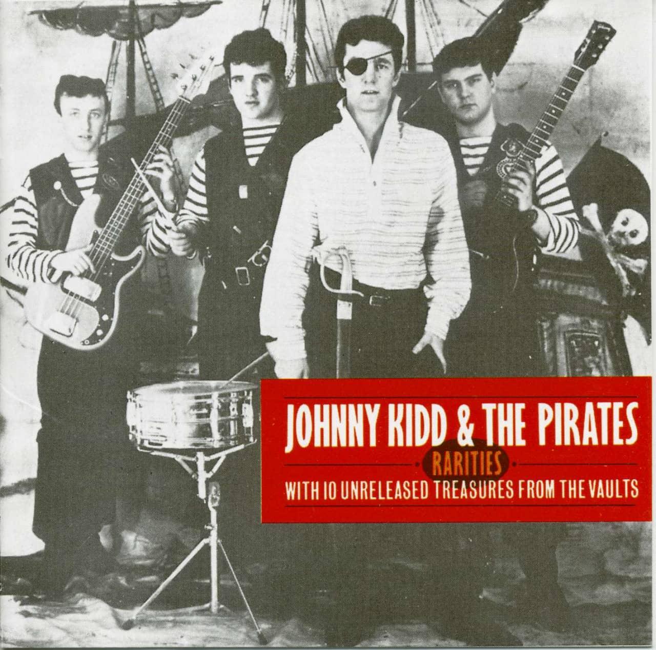 Johnny Kidd & The Pirates - Rarities 1961-1966 (CD)