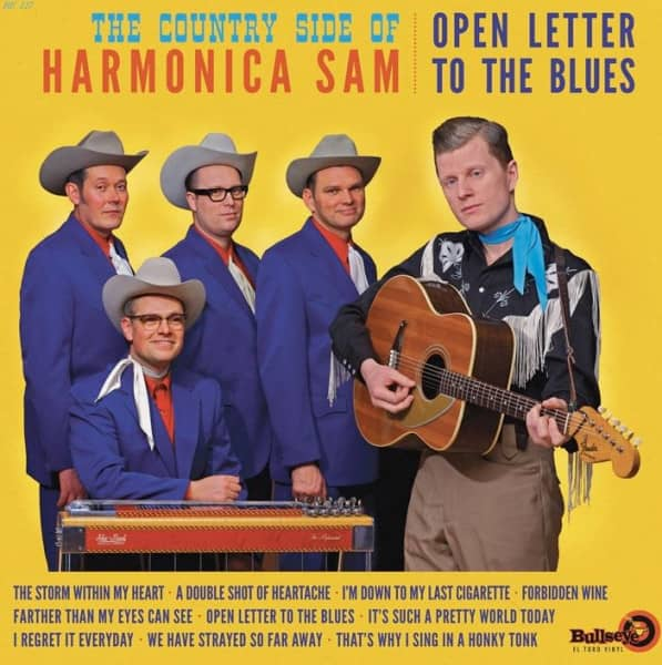 The Country Side Of Harmonica Sam (LP)