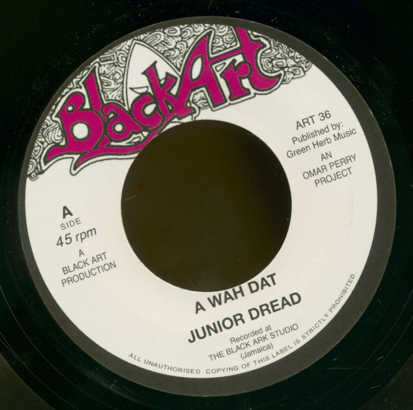 Junior Dread - The Upsetters (7inch, 45rpm, BC)