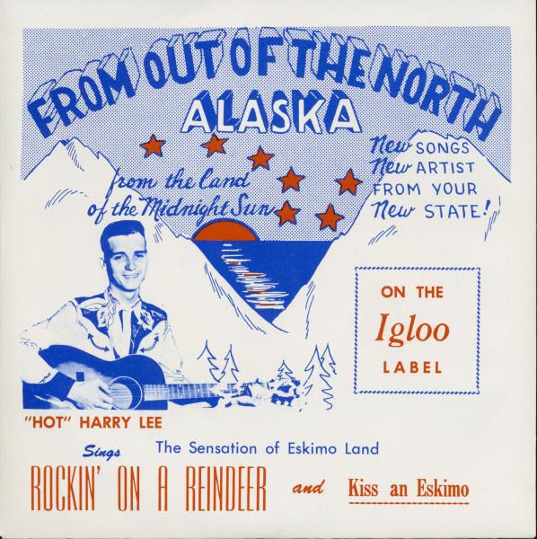 Rockin On A Reindeer - Kiss An Eskimo (7inch, 45rpm)