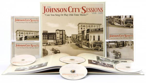 The Johnson City Sessions - Can You Sing Or Play Old-Time Music? (4-CD Deluxe Box Set)