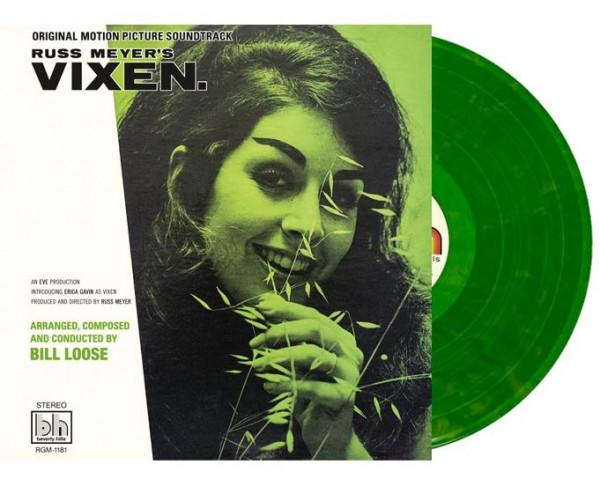 Russ Meyer's Vixen - Soundtrack (LP, 45rpm, Colored Vinyl, Ltd.)