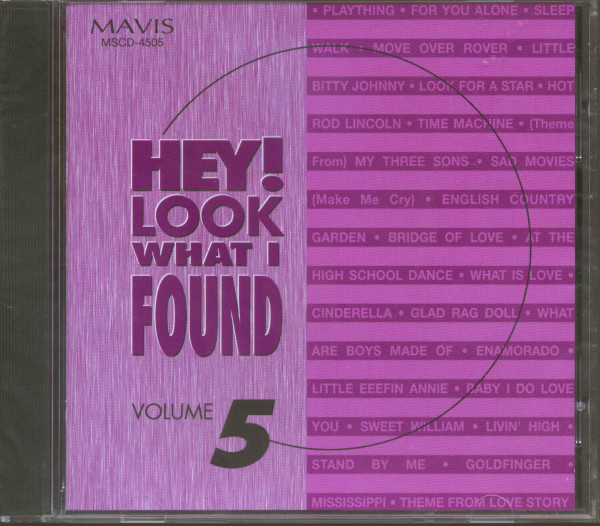 Hey! Look What I Found Vol.5 (CD)