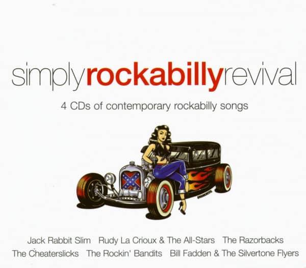 Simply Rockabilly Revival (4-CD)