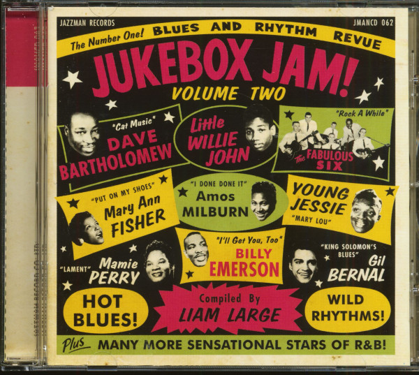 Jukebox Jam Vol.2 - Blues And Rhythm Revue (CD)