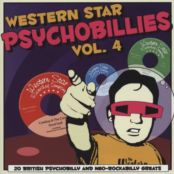 Vol.4, Western Star Psychobillies