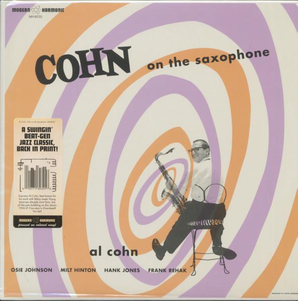 Cohn On The Saxophone (LP, Blue Vinyl)