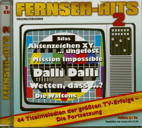 Fernseh-Hits Vol.2 (2-CD)