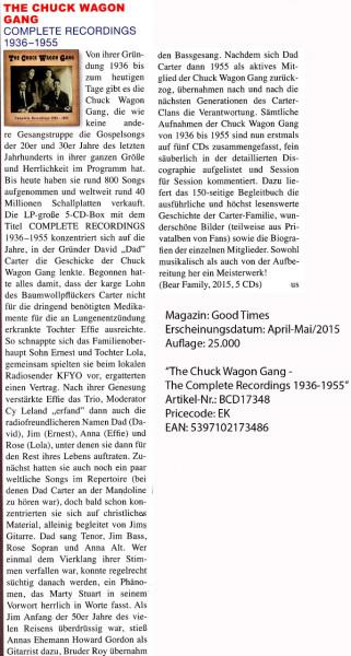 The-Chuck-Wagon-Gang_Good-Times_April-Mai-2015