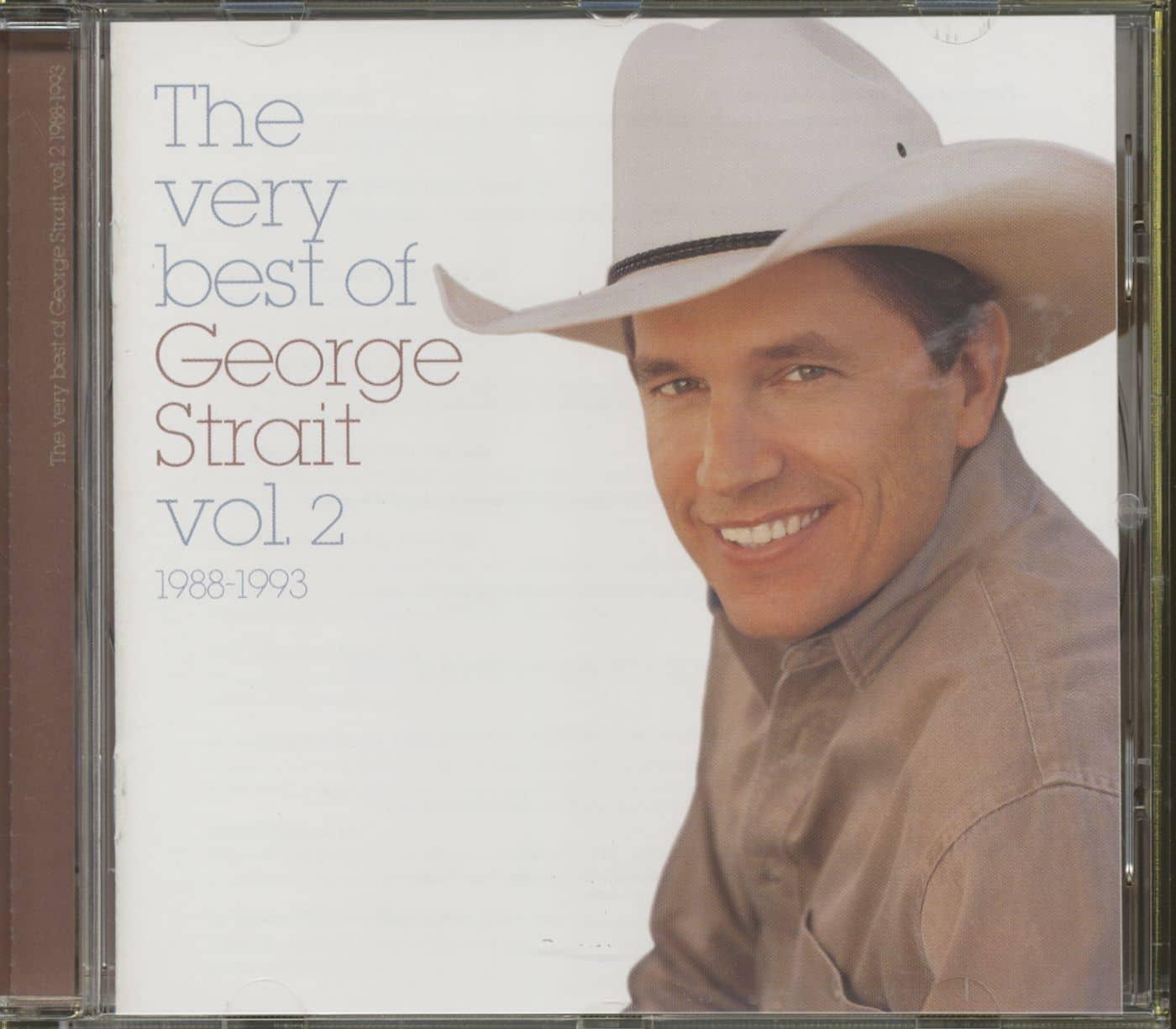 George Strait Cd The Very Best Of George Strait Vol 2