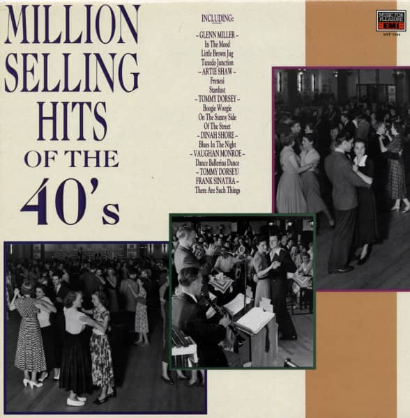 Million Selling Hits Of The 40's (LP)