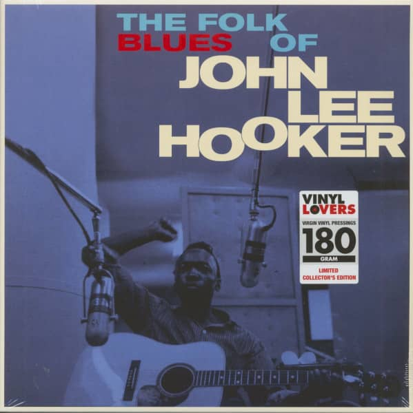 The Folk Blues Of John Lee Hooker (LP, 180g Vinyl, Ltd.)