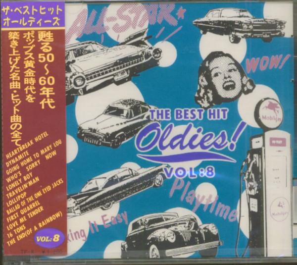 The Best Hit Oldies, Vol.8 (CD, Japan)