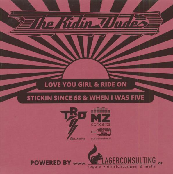 Love You Girl (7inch, EP, Pink Vinyl, PS, SC, Ltd.)