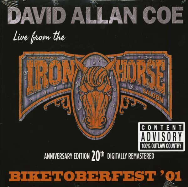 Biketoberfest '01 - Live From The Iron Horse Saloon (LP, Remastered)