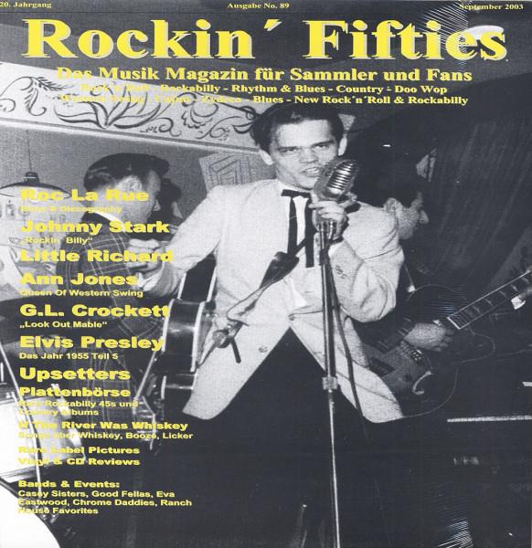 Nr. 89 - Musikmagazin September 2003