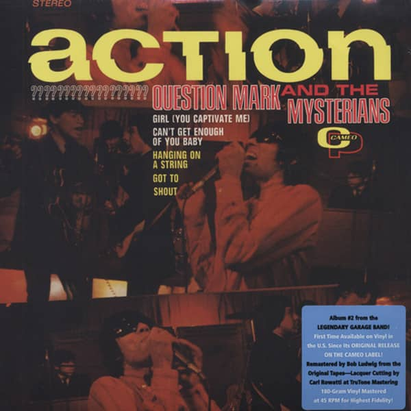 Action - 180g Vinyl (mastered at 45RPM)