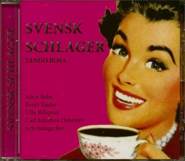 Svensk Schlager - Tango Rosa (CD)