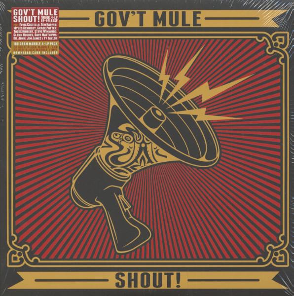 Shout (4-LP, 180g Vinyl)