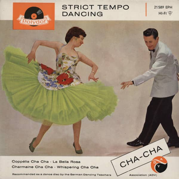 Strict Tempo Dancing - Cha-Cha 7inch, 45rpm, EP, PS