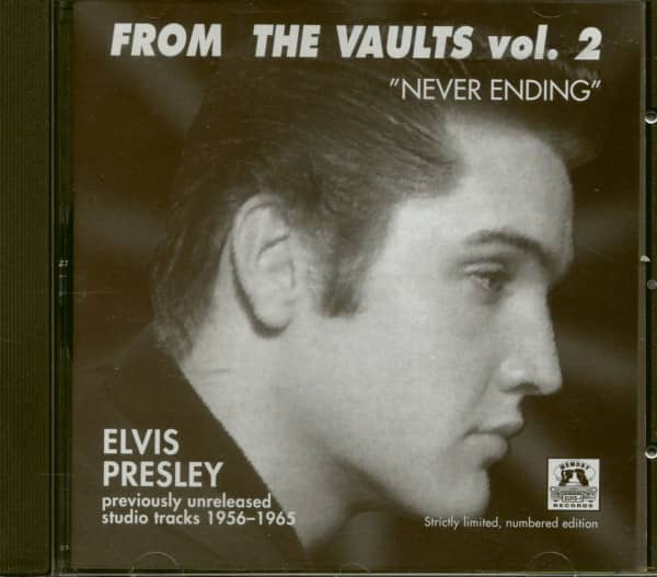 From The Vaults Vol.2 - Never Ending (CD)