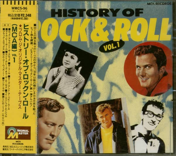 History Of Rock & Roll (MCA Masterpieces ) Vol.1 (CD Japan)