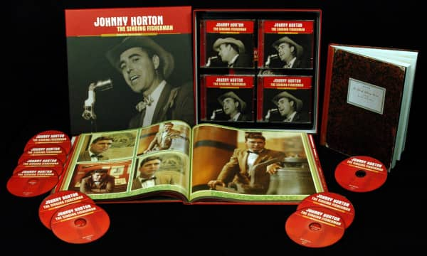 The Singing Fisherman - The Complete Johnny Horton Recordings (9-CD Box)