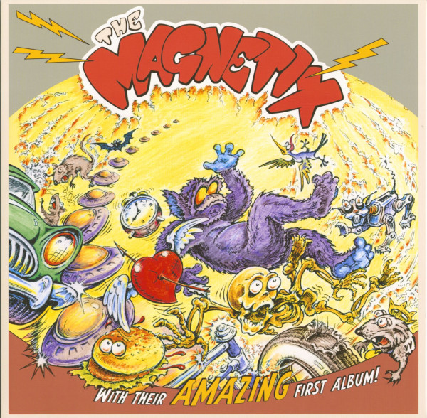 The Magnetix With Their Amazing First Album (Vinyl)
