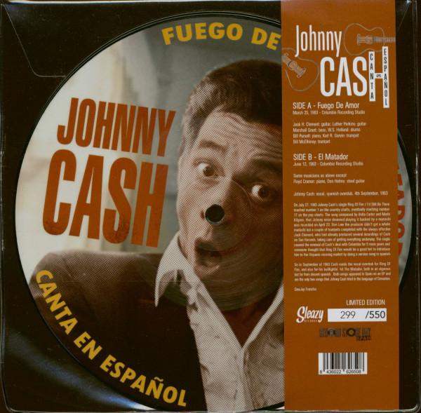 Canta En Espagnol (7inch, 45rpm, SC, Picture Disc, RSD, Ltd.)