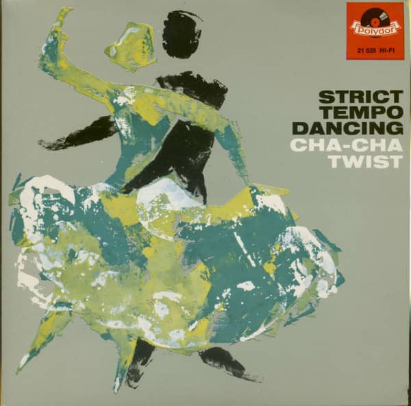Strict Tempo Dancing - Cha Cha & Twist (7inch, 45rpm, EP, PS)