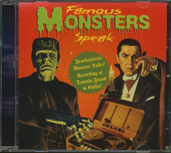 Famous Monsters Speak (CD)