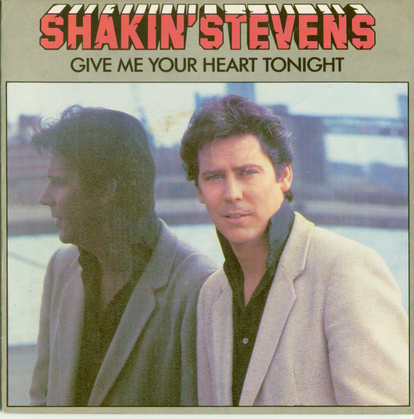 Give Me Your Heart Tonight - Thinkin' Of You (PS, 45rpm)