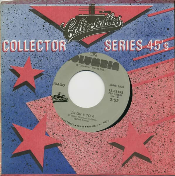 25 Or 6 To 4 - Make Me Smile (7inch, 45rpm, BC, CS)
