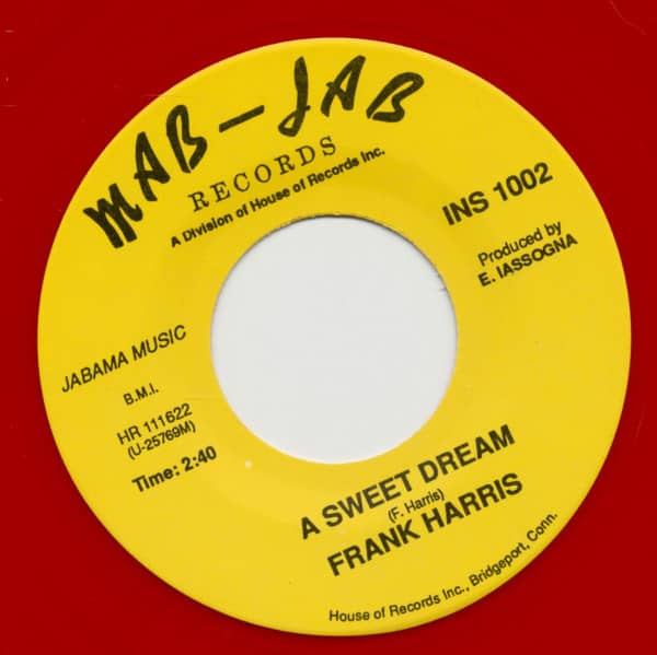A Sweet Dream - My Sweet Love (7inch, 45rpm, Colored Vinyl)
