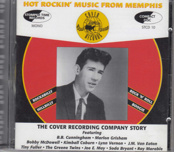 Cover Records Hot Rockin' Music From Memphis