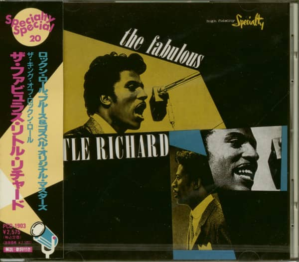 The Fabulous Little Richard (CD, Japan)