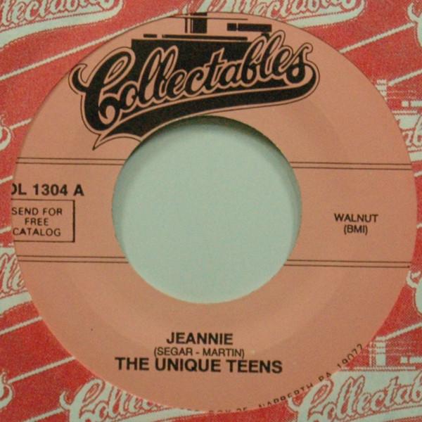 Jeannie b-w At The Ball 7inch, 45rpm