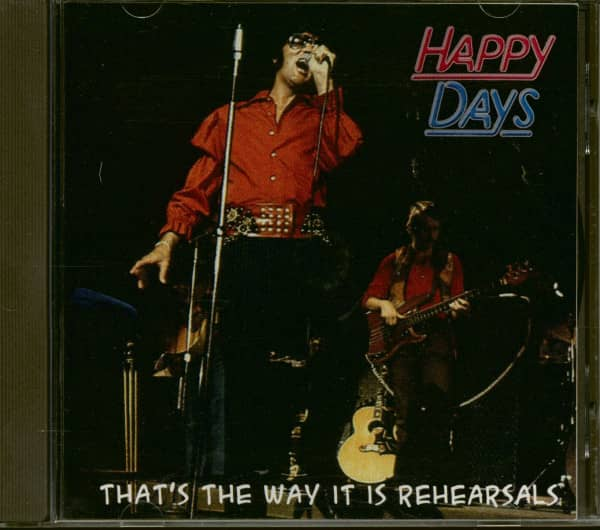 Happy Days - That's The Way It Is Rehearsals (CD)