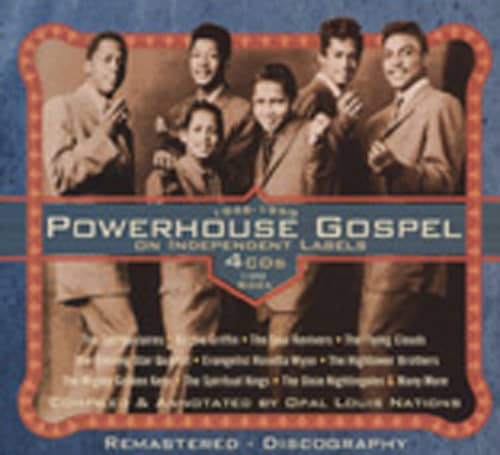 Powerhouse Gospel On Independant Labels (4-CD