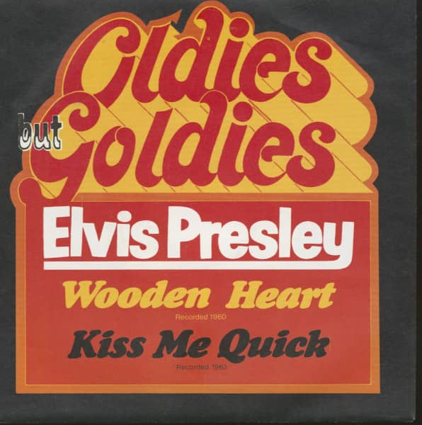 Wooden Heart - Kiss Me Quick (7inch, 45rpm, PS)