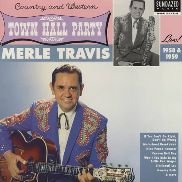 At Town Hall Party 1958 & 1959 - HQ Vinyl