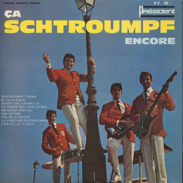 Ca Schtroumpf Encore - Radio Monte Carlo (10inch LP)