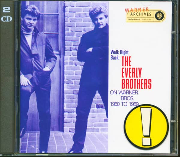 Walk Right Back - The Everly Brothers on Warner Bros 1960-69 (2-CD)
