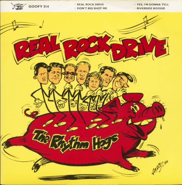 Real Rock Drive (EP, 7inch, 45rpm, PS, SC)